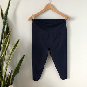 NWOT Aerie Navy Move Cropped High Waisted Legging